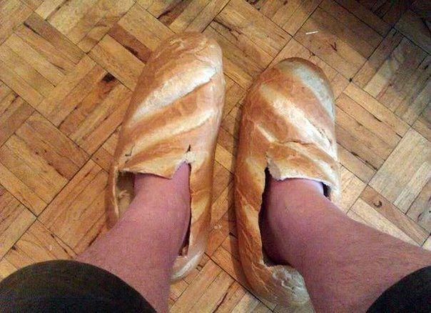 Хлеб на ногах